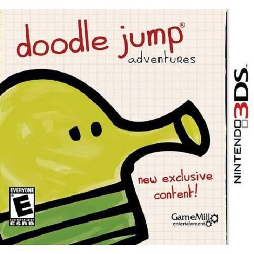 Doodle Jump  Adventure (Nintendo 3DS) - Pre-Owned