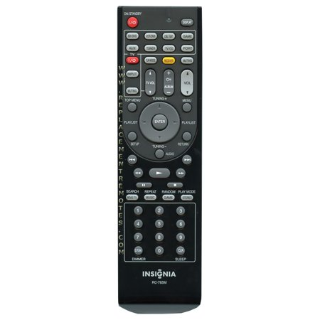 Insignia Rc785m  P N  24140785  Home Theater System Remote Control  New