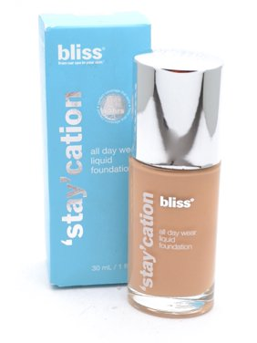 bliss 'Stay'cation All Day Liquid Foundation, Buff 1 fl oz