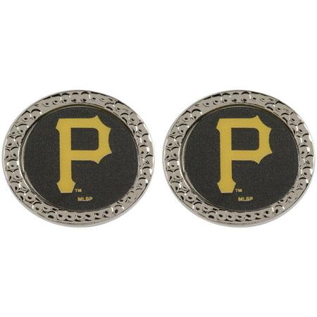 Pittsburgh Pirates WinCraft Women's Round Post Earrings - No (Pittsburgh Pirates Logo Earrings)