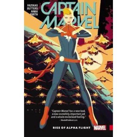 Captain Marvel 1: Rise of Alpha Flight