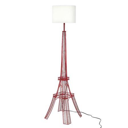 Euro Style Collection Paris Eiffel Tower Metal Body Floor Lamp - Floor 15 Seasons Tower Halloween