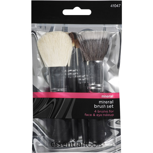Essential Tools Mineral Brush Set, 4 pc