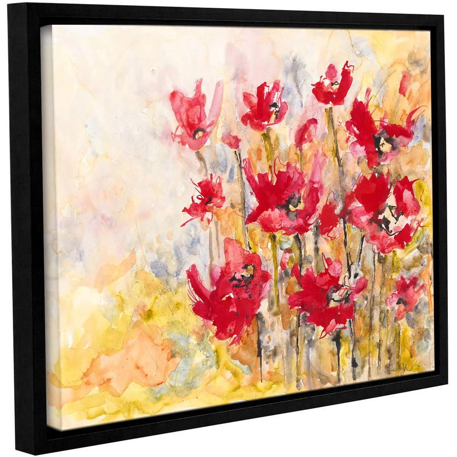 "ArtWall Karin Johannesson ""Wildflowers II"" Gallery-Wrapped Floater-Framed Canvas"
