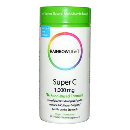 Rainbow Light Super C 1,000 mg 60 Tab