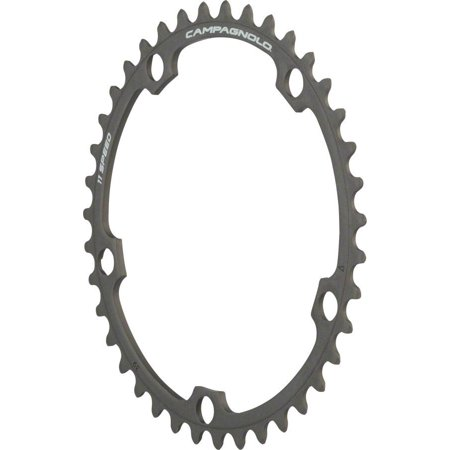 - Campagnolo 11 Speed 39 Tooth Chainring for Athena, Black