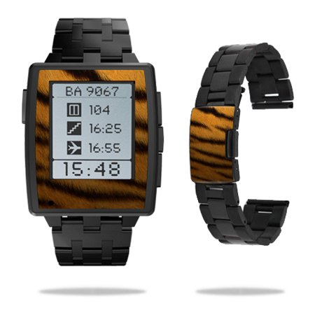 Skin Decal Wrap for Pebble Steel Smart Watch sticker Tiger
