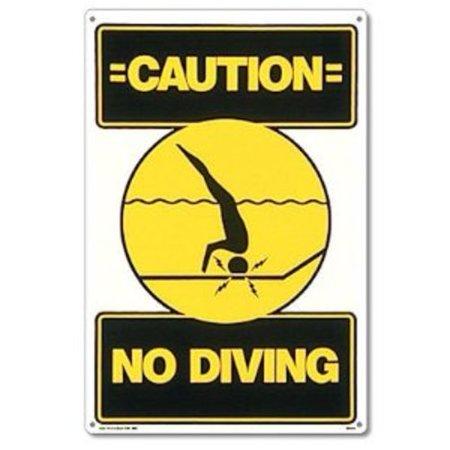 Diving Sign - Poolmaster