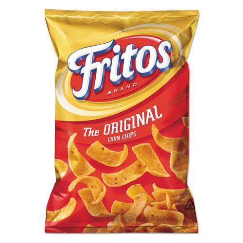 Grandmas 56627 Corn Chips, 4 oz Bag, 28/Carton
