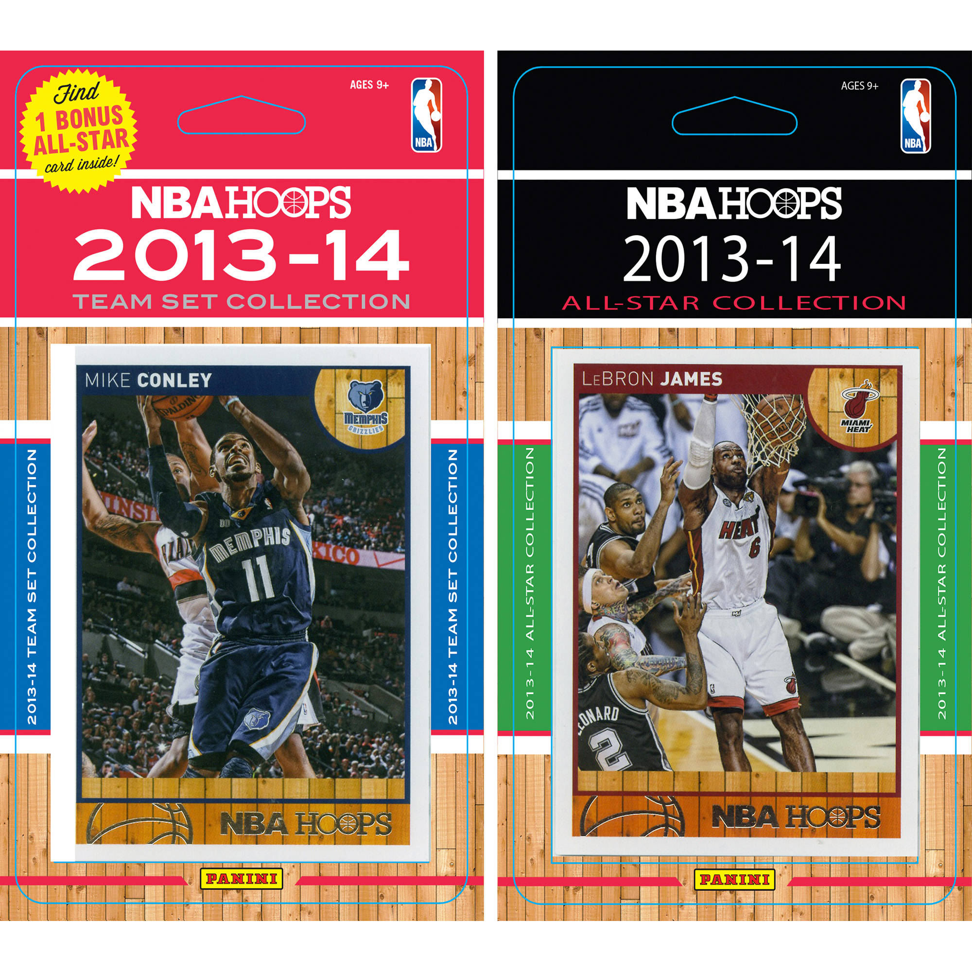 C&I Collectables NBA Memphis Grizzlies Licensed 2013-14 Hoops Team Set Plus 2013-24 Hoops All-Star Set