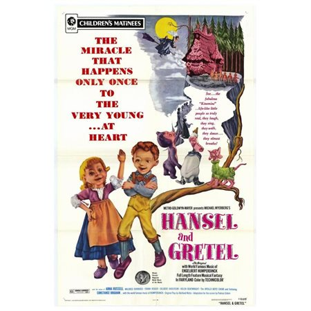 Hansel and Gretel POSTER Movie Mini Promo (Hansel And Gretel Halloween Costumes)