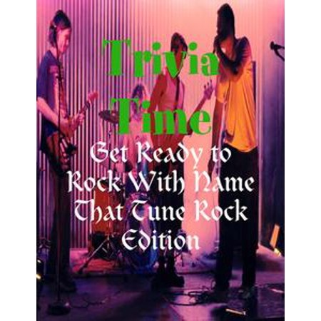 Trivia Time - Get Ready to Rock With Name That Tune Rock Edition - - Halloween Film Trivia