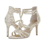 Adara Strappy Floral Lace Heels