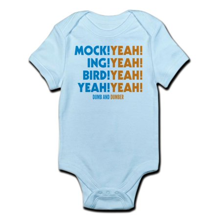 CafePress - Mockingbird Dumb And Dumber Body Suit - Baby Light Bodysuit - Suits From Dumb And Dumber