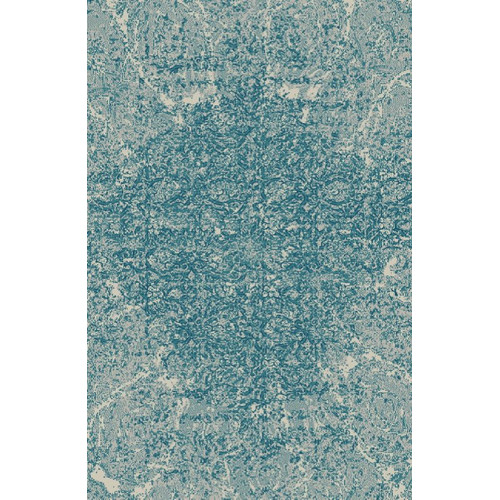 Rug Factory Plus Fusion Turquoise/Silver Area Rug