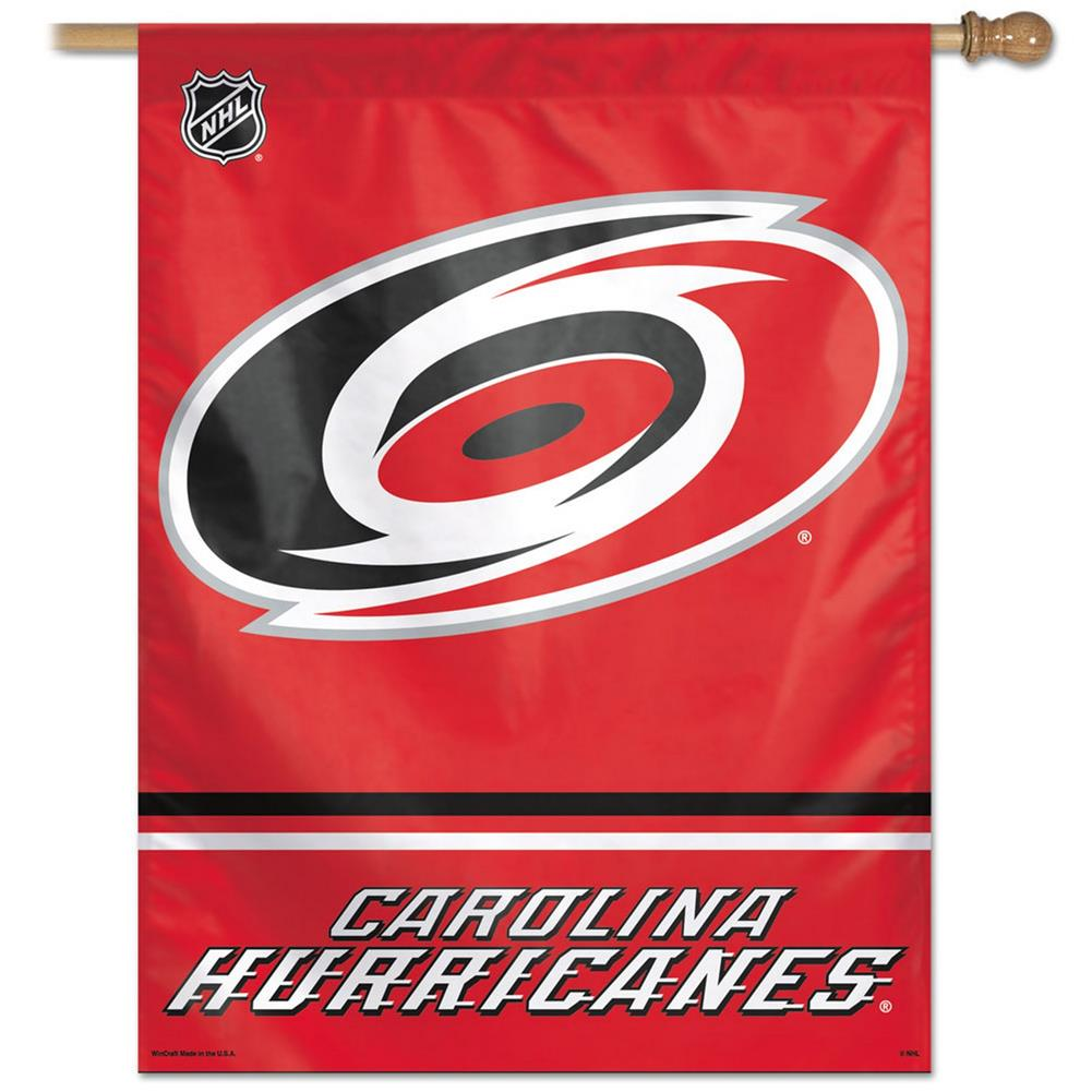 Carolina Hurricanes Vertical Outdoor House Flag