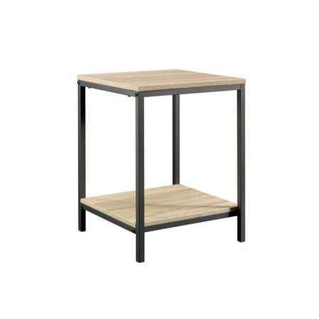 Curiod Square Side Table, Charter Oak Finish