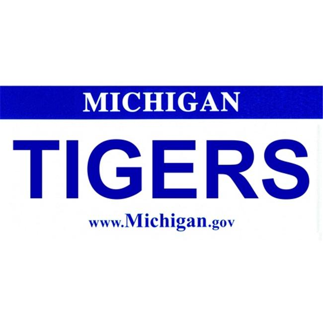 LP-2079 Michigan State Background License Plates- Tigers - image 1 of 1