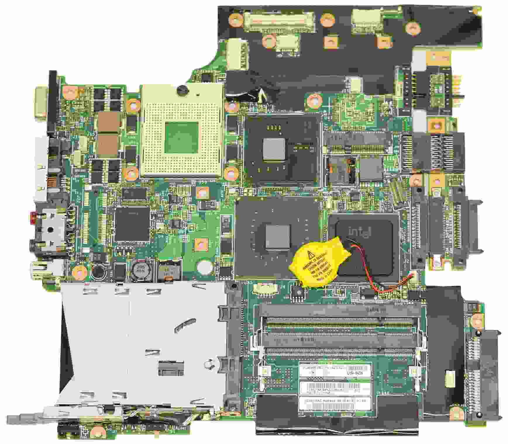 42T0120 Lenovo ThinkPad T60 Laptop placa madre Intel con ATI 64MB s478 + Lenovo en Veo y Compro