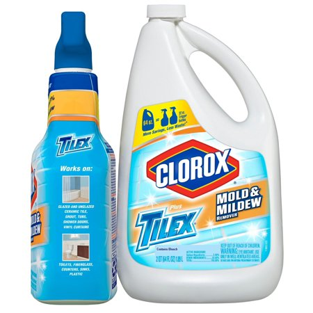 Product of Tilex Mold & Mildew Remover, 32 oz. with 64 oz. Refill [Biz (Best Mold Removal Products)