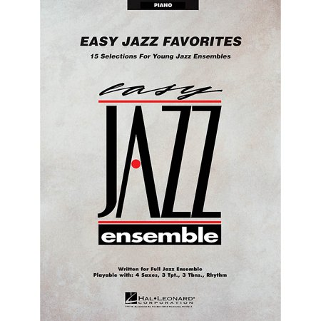 Hal Leonard Easy Jazz Favorites - Piano Jazz Band Level 2 Composed by (Eagle Group Panco Rack)