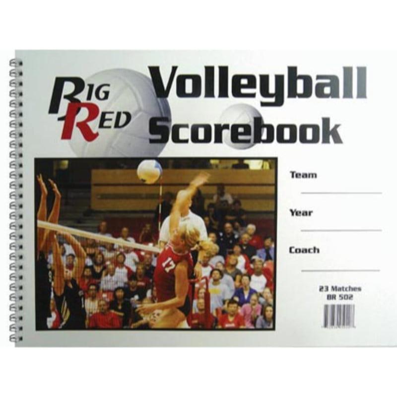 "9.25"" x 12"" Volleyball Scorebook by"