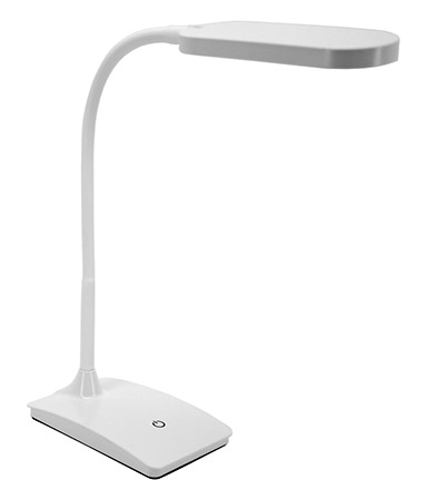 IVY LED USB Desk Lamp White by LIVEDITOR LIGHTING