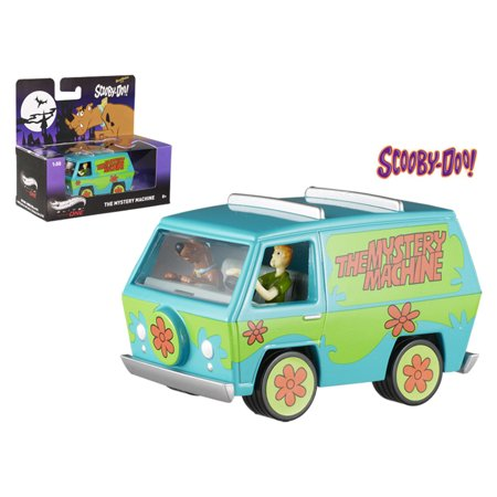d29fb50d3340c Scooby Doo Mystery Machine With Mini Figures Elite 1/50 Diecast Model by  Hotwheels