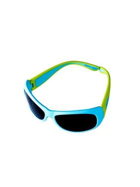 JBFLM Junior Flexerz Sunglasses, Aqua & Lime