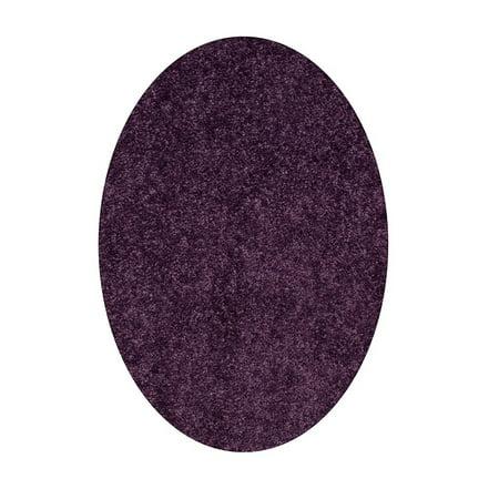 Home Queen Solid Color Purple 2