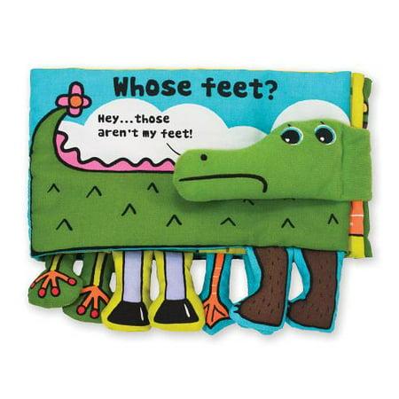Melissa and Doug Soft Activity Book Whose Feet