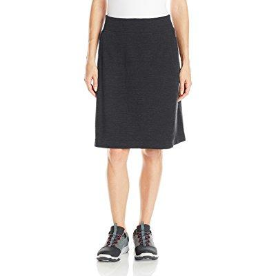 Ibex Wear women's izzi skirt, medium, pewter heather