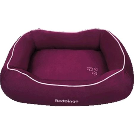 Red Dingo DN-MF-PU-SM Bed Donut Purple, Small