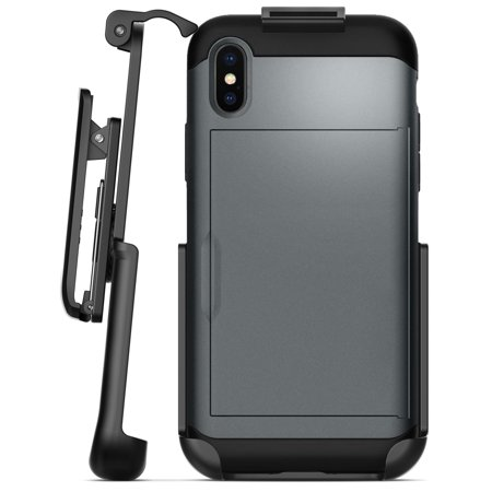 hot sale online a6b6b 6efbf Encased Belt Clip Holster for Spigen Slim Armor CS Case - iPhone X (case  not included)