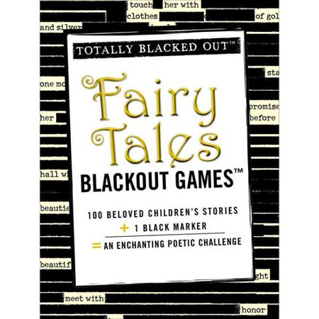 Totally Blacked Out Fairy Tales Blackout Games