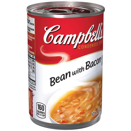 Campbells  Condensed Bean With Bacon Soup  11 5 Oz