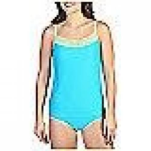 ExOfficio Give-N-Go Lacy Shelf Bra Camisole - Women's Chlorine Large