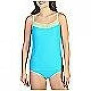 ExOfficio Give-N-Go Lacy Shelf Bra Camisole - Women's Chlorine Large