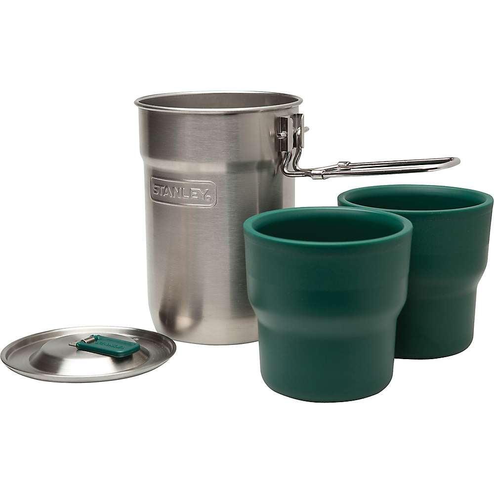 ustensiles de cuisine 2 Ceramic Cups Stanley Adventure Camp Cookware Set en acier inoxydable