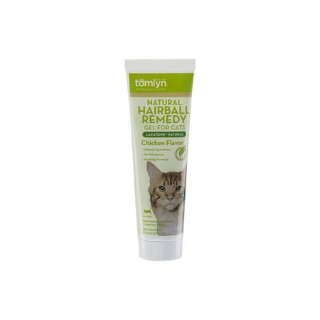 - Tomlyn Laxatone Natural Hairball Remedy Supplement for Cats, Chicken Flavor, 4.25 oz.