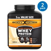 Best High Protein High Fiber Protein Powders - Body Fortress® Super Whey Protein, Vanilla, 5 Pounds Review