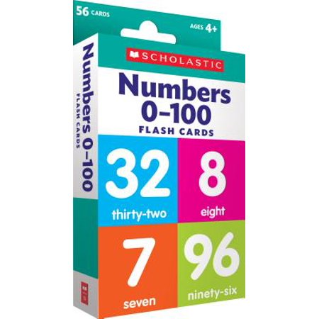 Flash Cards: Flash Cards: Numbers 0 - 100 - Number Cards