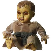 Deals on Haunted Doll with Sound Halloween Decoration