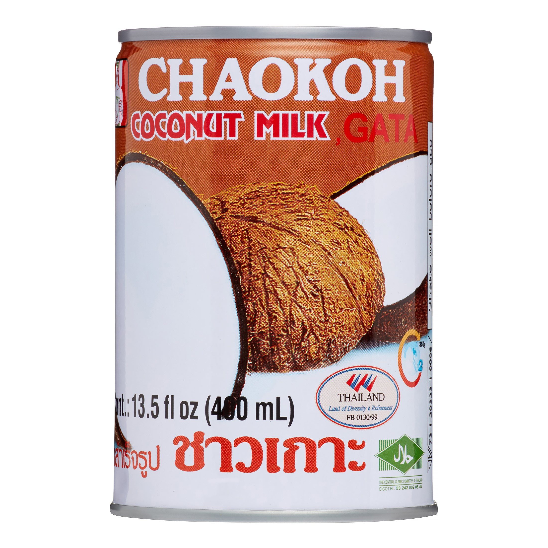 Chao Koh Coconut Milk, 13.5 Oz by Chao Koh