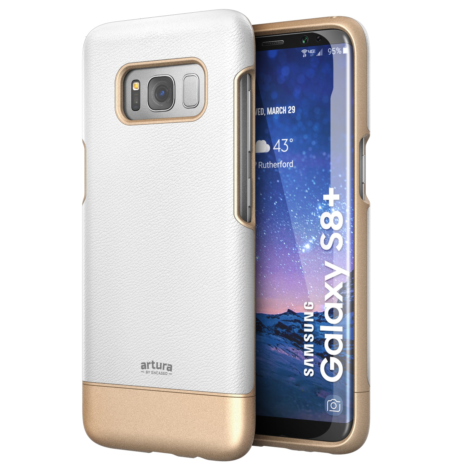 Galaxy S8 Premium Vegan Leather Case - Artura Collection By Encased