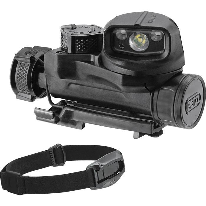 Petzl STRIX IR Black Tactical Headlamp w/ Visible & Infra...