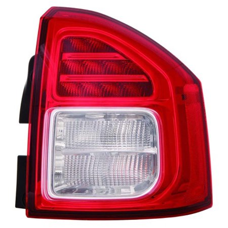 Go-Parts » 2011 - 2013 Jeep Compass Rear Tail Light Lamp Assembly / Lens / Cover - Right (Passenger) Side 5182542AC CH2801197 Replacement For Jeep Compass ()