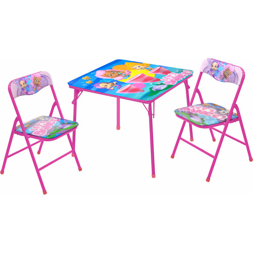 Bubble Guppies Table And Chair Set