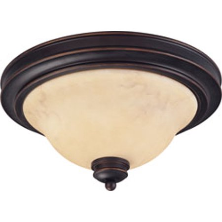 Replacement for 60/1406 ANASTASIA 2 LIGHT 13 INCH FLUSH DOME WITH HONEY MARBLE GLASS COPPER ESPRESSO TRADITIONAL replacement light bulb
