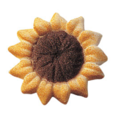 Sunflower Cake Decorations (24pk Sunflower (32807) 1 1/2